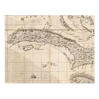 Un mapa del Imperio británico en la hoja 14 de Postal