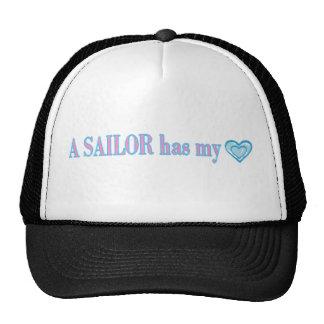 Un marinero tiene mi corazón gorro de camionero