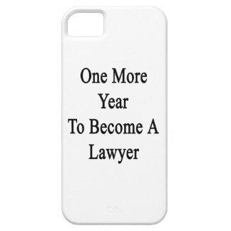 Un más año a hacer un abogado iPhone 5 Case-Mate fundas
