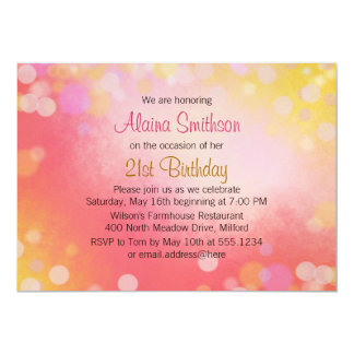 Un más viejo cumpleaños adolescente de los chicas invitación 12,7 x 17,8 cm