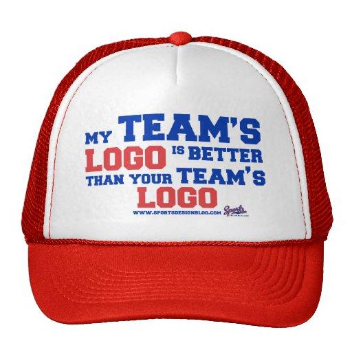 Un mejor gorra de la escuela vieja del logotipo