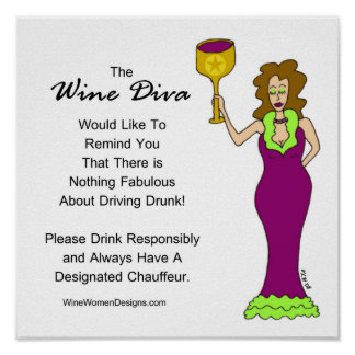 Un mensaje importante de la diva del vino impresiones