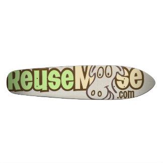Un monopatín de ReuseMoose