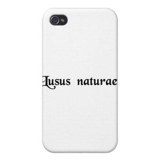 Un monstruo de la naturaleza iPhone 4 funda