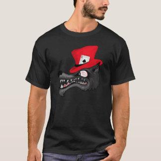 Un movimiento de la camiseta del lobo solitario de