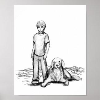 """""""Un muchacho y su arte del perro"""" - del """"horror"""