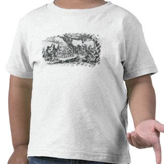 Un nacimiento en un campo gitano camisetas
