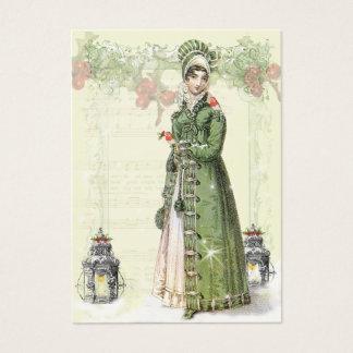 Un Noel feliz Jane Austen inspiró la etiqueta b