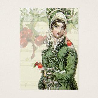 Un Noel feliz Jane Austen inspiró la etiqueta de