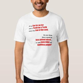 Un ojo para un ojo camiseta