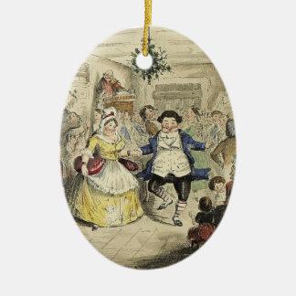 Un ornamento del villancico del navidad - la bola