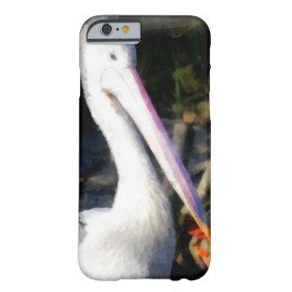 Un pájaro blanco y su pico grande funda barely there iPhone 6