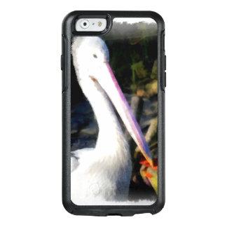 Un pájaro blanco y su pico grande funda otterbox para iPhone 6/6s