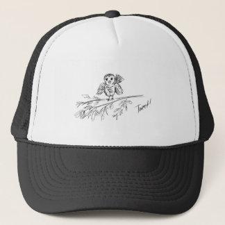Un pájaro, el pío original gorra de camionero
