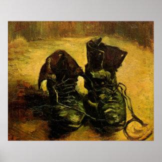 Un par de zapatos de Vincent van Gogh, arte del
