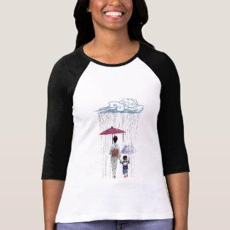 Un paseo con la mamá camiseta