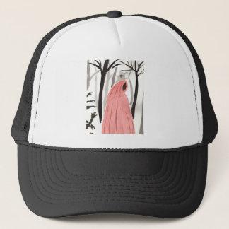 Un paseo en el bosque espeluznante gorra de camionero