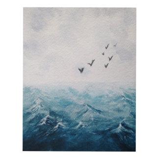 un pedazo de mar cuadro