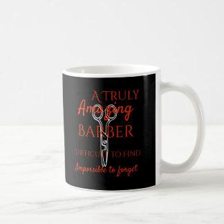 Un peluquero verdaderamente grande es difícil de taza de café