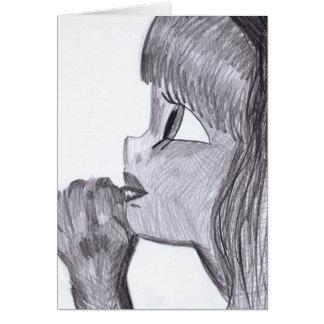 Un pequeño arte de Cadouxdle de la tarjeta de