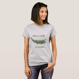 Un poco después, camisa del cocodrilo