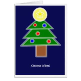 Un poema del navidad tarjeta de felicitación