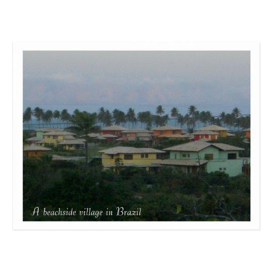 Un pueblo de la playa en la posición del Brasil… - Postal