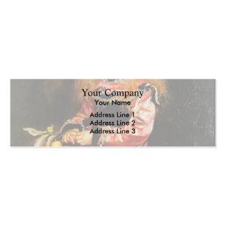 Un recuerdo de Velázquez de John Everett Millais Tarjetas De Visita