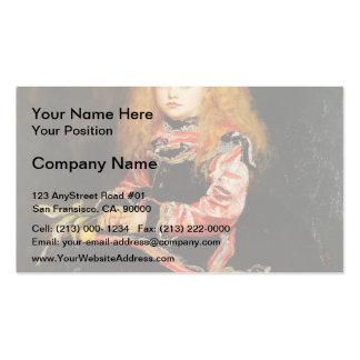 Un recuerdo de Velázquez de John Everett Millais Plantilla De Tarjeta De Negocio