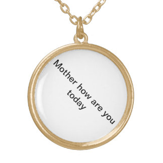 Un regalo a la madre más estimada colgante redondo