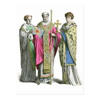 Un sacerdote bizantino postal