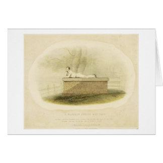 Un señor Byron (1788-1824 del escolar de la grada  Tarjetas