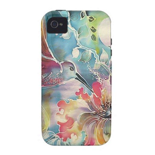 Un solo colibrí Case-Mate iPhone 4 fundas