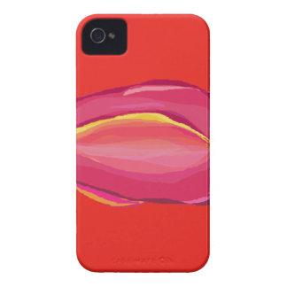 Un solo tulipán iPhone 4 Case-Mate coberturas