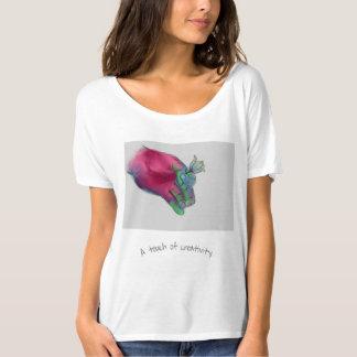 Un tacto de la creatividad camiseta