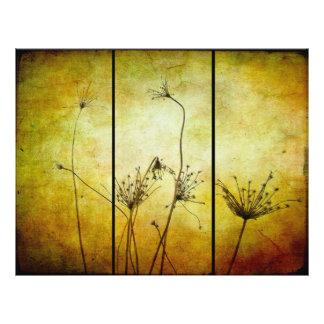 Un tacto del folleto de la naturaleza folleto 21,6 x 28 cm