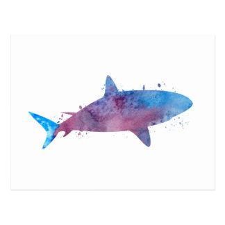 Un tiburón postal