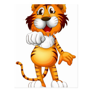Un tigre postal