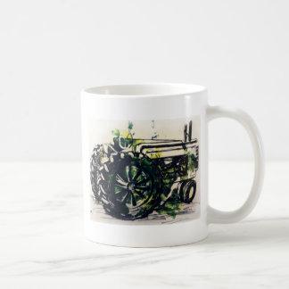 ¡Un tractor! Taza De Café