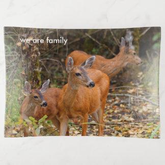 Un trío de ciervos de cola negra