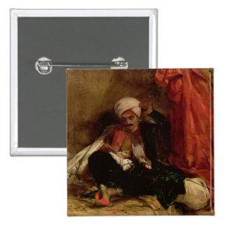 Un turco asentado, 1826 (aceite en lona) pin