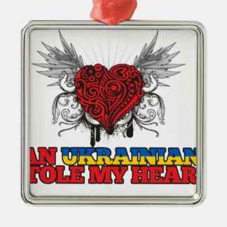 Un ucraniano robó mi corazón ornamento de navidad