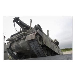 Un vehículo de recuperación de M88A2 Hércules Cojinete