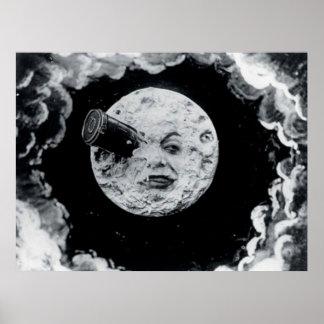 Un viaje a la luna póster