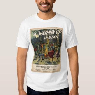 Un Warmin para arriba en Dixie Camiseta