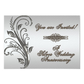 Una 25ta tarjeta de la invitación de RSVP del