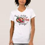Una abuelita caliente camisetas