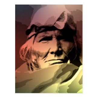 Una anciano de Zuni Postal