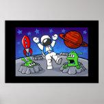 Una aventura del espacio exterior impresiones