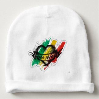 una bandera de la pintada del reggae del rasta del gorrito para bebe